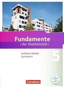 Fundamente der Mathematik 5. Schuljahr. Schülerbuch Gymnasium Sa