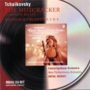 DER NUSSKNACKER (GA)/SUITEN FÜR ORCHESTER 3,4