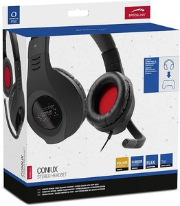 CONIUX Stereo Headset - for PS4, black