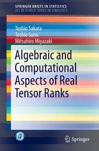 Algebraic and Computational Aspects of Real Tensor Ranks