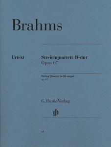 Streichquartett B-dur op. 67