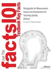 Studyguide for Measurement Issues and Assessment for Teaching Qu