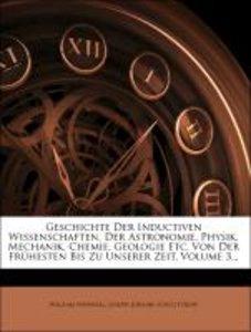 Geschichte der inductiven Wissenschaften, Dritter Theil