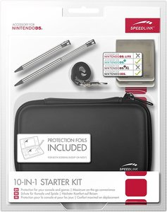 10-IN-1 STARTER KIT - for N3DS/NDSi, black