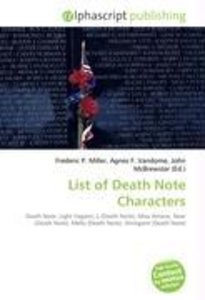 List of Death Note Characters