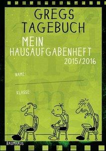 Gregs Tagebuch - Mein Hausaufgabenheft 2015/2016 (VE 5)