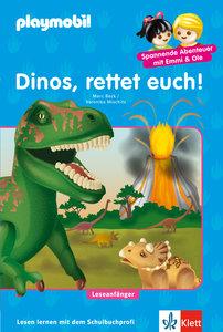 PLAYMOBIL Dinos, rettet euch!