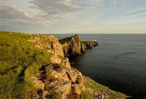 Premium Textil-Leinwand 120 cm x 80 cm quer Isle of Skye - Schot