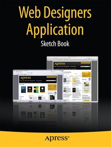 Web Designers Application Sketch Book