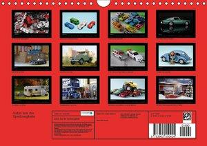 Autos aus der Spielzeugkiste (Wandkalender 2017 DIN A4 quer)