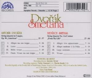 Streichquartett F-Dur op.96/Streichquartett 1 e-m.