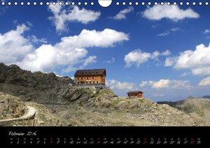 Meraner Höhenweg (Wandkalender 2016 DIN A4 quer)