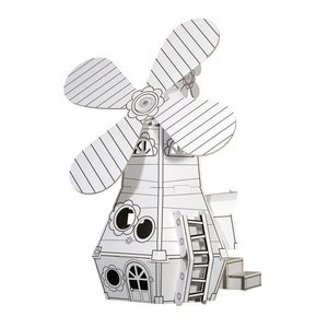 Calafant K3000X - KI.KA Mit-Mach-Mühle, Windmühle, 43x34x56 cm