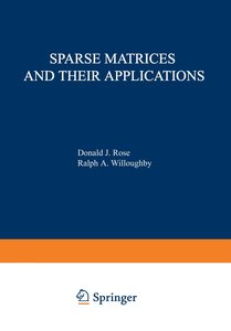 Sparse Matrices and their Applications