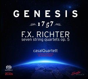Genesis 1757 (Streichquartette op.5)