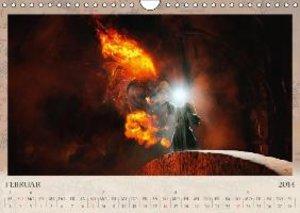 Der Herr der Ringe - Bösewichte (Wandkalender 2014 DIN A4 quer)
