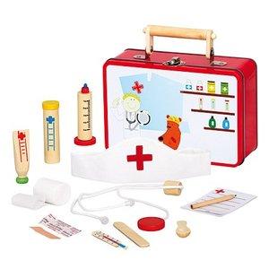 Bino 83529 - Kinder-Tierarztkoffer mit viel Inhalt