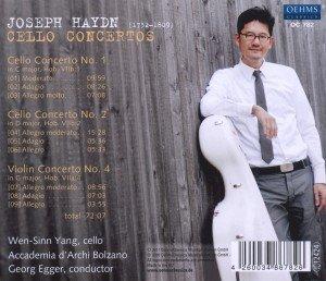 Cellokonzerte 1,2 & 4