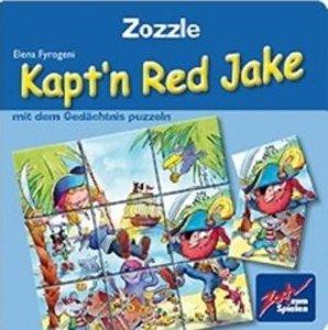 Noris 601131800 - Zozzle: Kaptn Red Jake