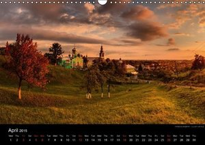Monuments of Ukraine 2015 (Wall Calendar 2015 DIN A3 Landscape)