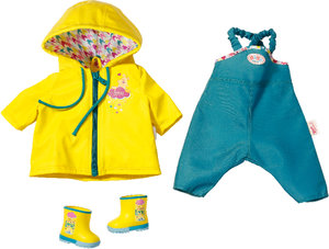 Zapf BABY born Happy Birthday Rain Fun Set