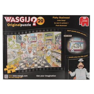 Wasgij Original 20 - Fisch-Business - 1000 Teile Puzzle