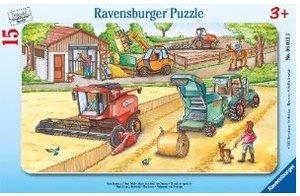 Ravensburger 06015 - Maschinen auf dem Feld, 15 Teile Puzzle
