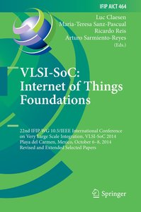 VLSI-SoC: Internet of Things Foundations