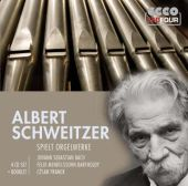 Albert Schweitzer spielt Orgelwerke - zum Schließen ins Bild klicken