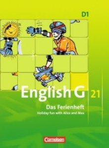 English G 21 Ausgabe D 01: 5. Schuljahr. Das Ferienheft
