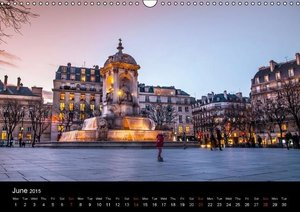 Paris, s\'il vous plaît! (Wall Calendar 2015 DIN A3 Landscape)