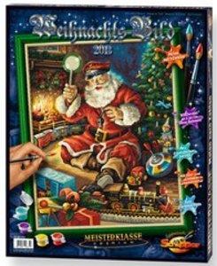Schipper 609300631 - Weihnachtsbild 2013: MNZ, Malen nach Zahlen