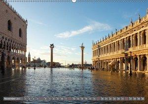 Hochwasser in Venedig (Wandkalender 2017 DIN A2 quer)