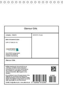 Ernesto, M: Glamour Girls (Tischkalender 2015 DIN A5 hoch)