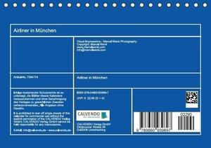 Wenk, M: Airliner in München / 2015 (Tischkalender 2015 DIN