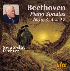 Beethoven Piano Sonatas 3+4+27