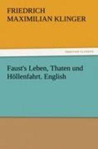 Faust's Leben, Thaten und Höllenfahrt. English