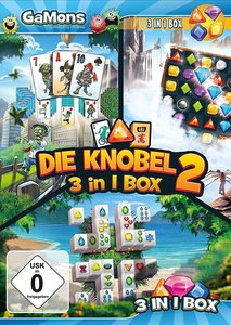 GaMons - Die Knobel 3 in 1 Box 2. Für Windows Vista/7/8/10