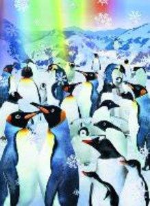 Puzzle 500 Teile mit 3D-Effekt. Pinguine