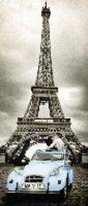 Romantisches Paris. Panoramapuzzle 170 Teile vertical mini