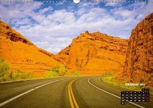 Die USA und ihre großen Straßen (Wandkalender 2016 DIN A3 quer)