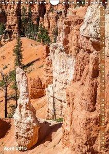 Viola, M: BRYCE CANYON Natur Pur (Wandkalender 2015 DIN A4 h