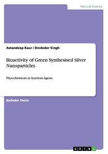 Bioactivity of Green Synthesised Silver Nanoparticles