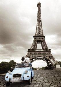Ravensburger 19243 - Romantisches Paris, 1000 Teile Puzzle