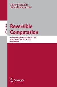 Reversible Computation