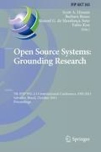 Open Source Systems: Grounding Research