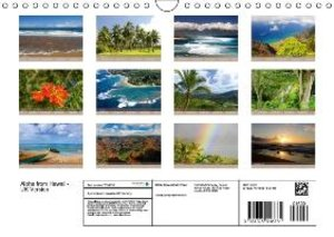 Aloha from Hawaii - UK Version (Wall Calendar 2015 DIN A4 Landsc