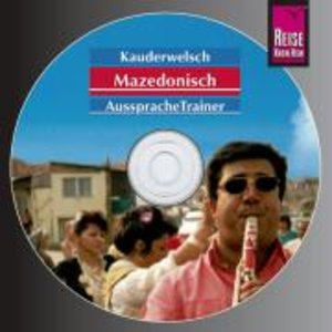 Mazedonisch. Kauderwelsch AusspracheTrainer. CD
