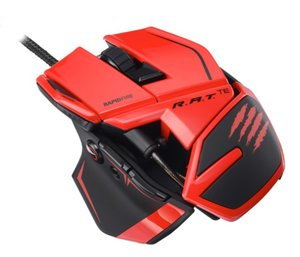 MadCatz R.A.T.TE (Tournament Edition) Gaming Maus, red