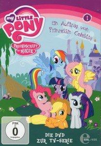 (1)DVD z.TV-Serie-Auftrag Von Prinzessin Celestia